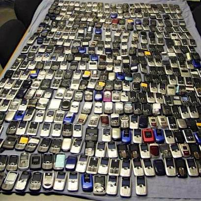 cell phones confiscated